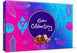 Cadbury Celebrations Assorted Chocolate Bars, Crackles