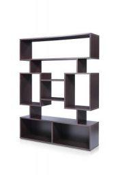 Trevi Modern Collection Amigo Wonder Display Unit with 8 Shelves (Matte Finish, Flower Wenge)