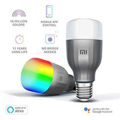 Mi LED Wi-Fi 10W Smart Bulb (White and Color, E27 Base)