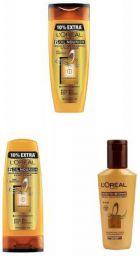 L'Oreal Paris Hex 6 Oil Shampoo, 360ml+L'Oreal Paris Lp Hex 6 Oil Conditioner, 175ml+L'Oreal Paris Smooth Intense Instan