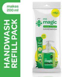 Godrej Protekt Mr. Magic Powder-to-Liquid Handwash Refill, (makes 200ml)