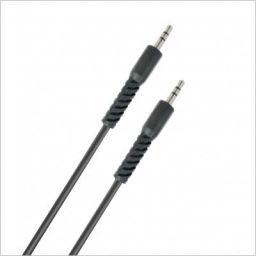 Portronics KONNECT AUX 4 1.5 Meter Long 3.5mm AUX Cable (Black)