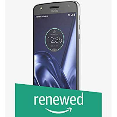 (Renewed) Motorola Z Play XT1635-02 (Black, 32GB)