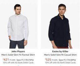John Players Shirt Upto 77% Off
