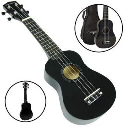 Martin Smith UK-212 Ultimate Soprano UKulele Starter Kit (Black)