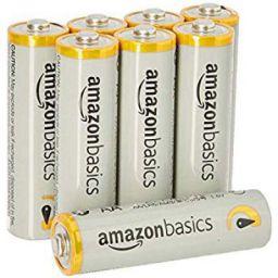 AmazonBasics AA Performance Alkaline Non-Rechargeable Batteries (8-Pack)