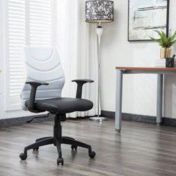 Flipkart Perfect Homes Warren Leatherette Office Arm Chair