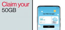 Free 50GB Cloud Storage for Oneplus Phone