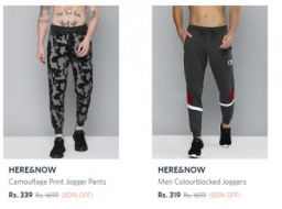 Men's Joggers and Track Pants up to 75% Off