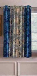 Panipat Textile Hub 152 cm (5 ft) Polyester Window Curtain Single Curtain