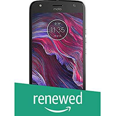 (Renewed) Motorola Moto X4 (Black, 64GB)
