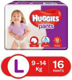 Huggies Wonder Pants Large Diapers (16 Count)