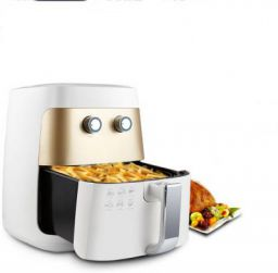 BMS Lifestyle LF-7615 2.5 Liters Up To 200 ° C 1400 Watt Oil Free Healthy Cooking Analog Control Air Fryer