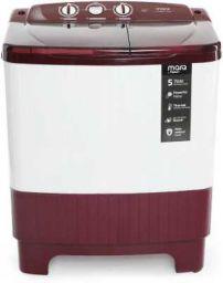 MarQ by Flipkart 6.2 kg Semi Automatic Top Load Washing Machine Maroon