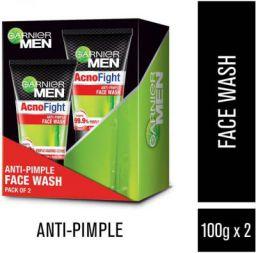 Garnier Acno Fight Anti-Pimple Facewash, Pack of 2
