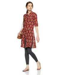 Adya Women's Princess Cut Kurta: Amazon.in: Clothing & Accessories