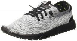 Amazon Brand - Symbol Men White/Grey Sneakers