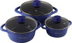 Wonderchef Ceramide Set Blue Cook and Serve Casserole Set