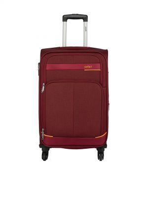 Safari Unisex Red Maasaimara Medium Trolley Bag