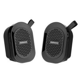 (Renewed) JABEES Beatbox Mini Twin Bluetooth Speaker/Stereo (Black)