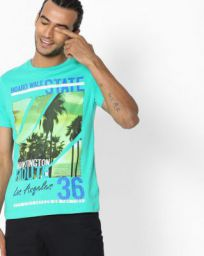 Ajio T-shirt Sale - Flat 50 to 80 Percent Off
