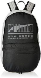 Puma 22 Ltrs Black-White-Reflective Laptop Backpack