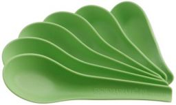 Signoraware Soup Spoon Set, Set of 6, Parrot Green