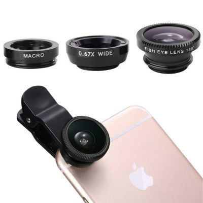 Phone Camera Lens Macro Lens & Wide Angle Lens