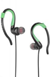 Riversong Sports Ear Hooks with Mic (Green-Black):