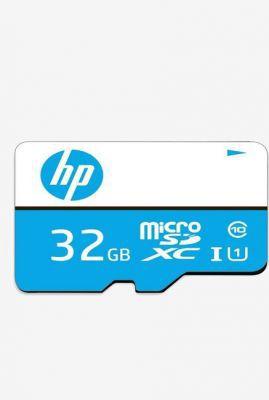 HP Micro SDHC 32 GB Class 10 Memory Card (Blue)