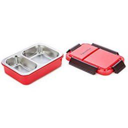Buy Signoraware Duo Star Stainless Steel Lunch Box, 700ml