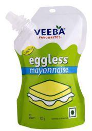 Veeba Eggless Mayonnaise Pouch, 100g