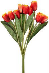 Fourwalls Beautiful Artificial Tulip Bunch (9 Flowers, Multicolour)