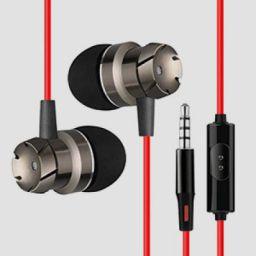 PTron HBE6 Headphone Metal Earphone in-Ear Wired