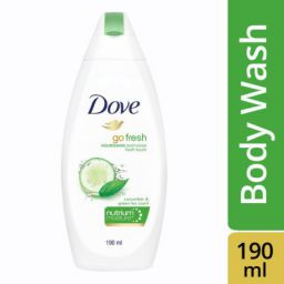 Dove Go Fresh Nourishing Body Wash, 190ml Online at Low Prices in India - Amazon.in