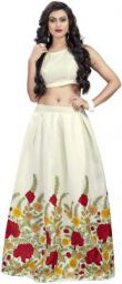 Nena Fashion Women's Heavy Fancy Banglory Silk Fabric Embroidered