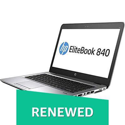 (Renewed) HP Elitebook 840G1-i5-8 GB-500 GB 14-inch Laptop (4th Gen Core i5/8GB/500GB/Windows 7/Integrated Graphics), Bl