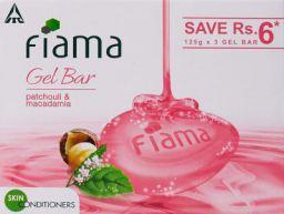 Buy Fiama Di Wills Patchouli &Macadamia Soft Glowing Skin Gel Bar, 125g (Pack Of 3)