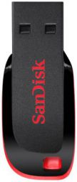 Sandisk Cruzer Blade 16 GB Utility Pendrive  (Red, Black)