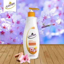 Santoor Body Lotion Whitening And UV Protection, 250ml (Pack Of 2) Online at Low Prices in India - Amazon.in