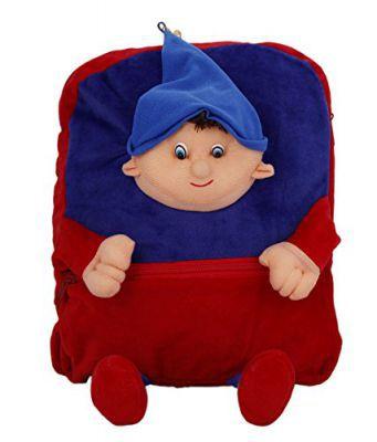Deals India Bag 6 Kids Shoulder Boy with Cap Face Bag (38 X 30 X 10 cm)