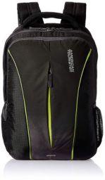 American Tourister Polyester 32 Ltrs Black Laptop Backpack (AMT Juke Laptop BKPK 02-Black): Amazon.in: Bags, Wallets &am