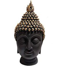 Heeran Art Polyresin Buddha Head Figurine