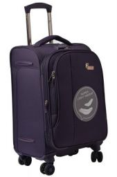 F Gear Aspire Polyester 54 cms Purple Softsided Cabin Luggage