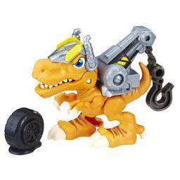 Playskool CSQ Dino Rider Tow Truck Preschool Figure and Playset