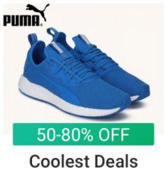 Puma Footwear: 50% to 80% Off