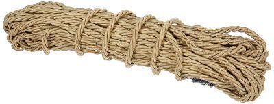 BikenWear Leg Guard Rope for Motorcycle (Brown)
