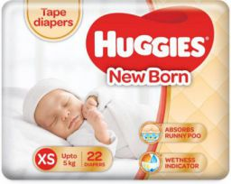 Huggies Ultra soft - XS  (22 Pieces)