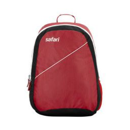 Safari Red Casual Backpack