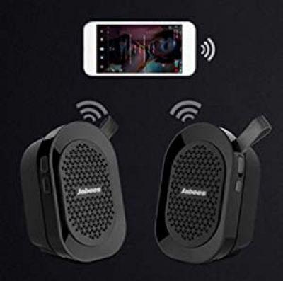 JABEES Beatbox Mini Twin Bluetooth Speaker/Stereo